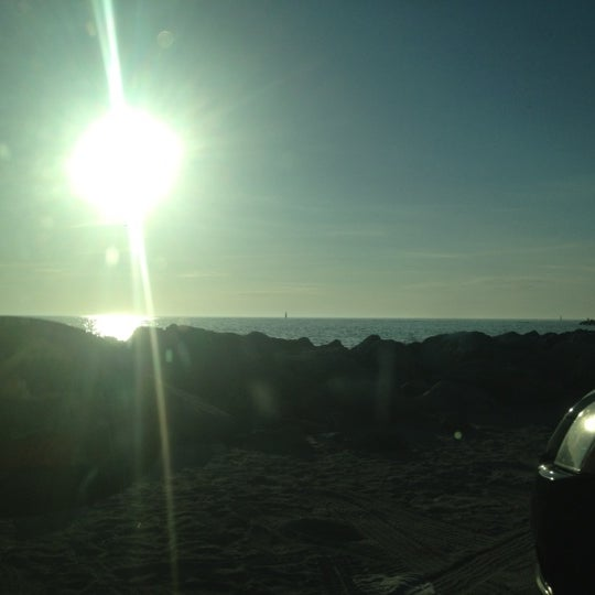 Photo taken at South Jetty / Humphris Park by Justin B. on 11/27/2012