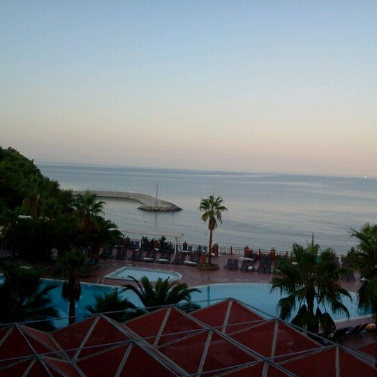 9/16/2012 tarihinde Lauranne D.ziyaretçi tarafından Pine Bay Holiday Resort'de çekilen fotoğraf