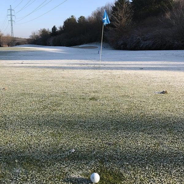 Photo taken at Golf Hostivař by Petr K. on 12/31/2016