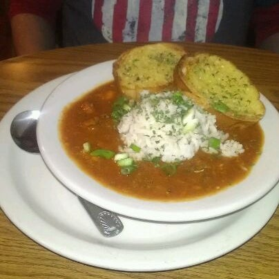 It may look like a shack, but the food is delicious. Try the gumbo, and save room for dessert!