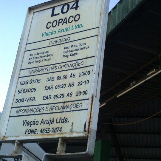 Photo taken at Terminal Rodoviário Arujá by Paulo M. on 5/8/2013