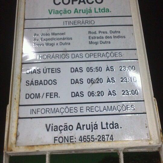 Photo taken at Terminal Rodoviário Arujá by Paulo M. on 8/23/2013