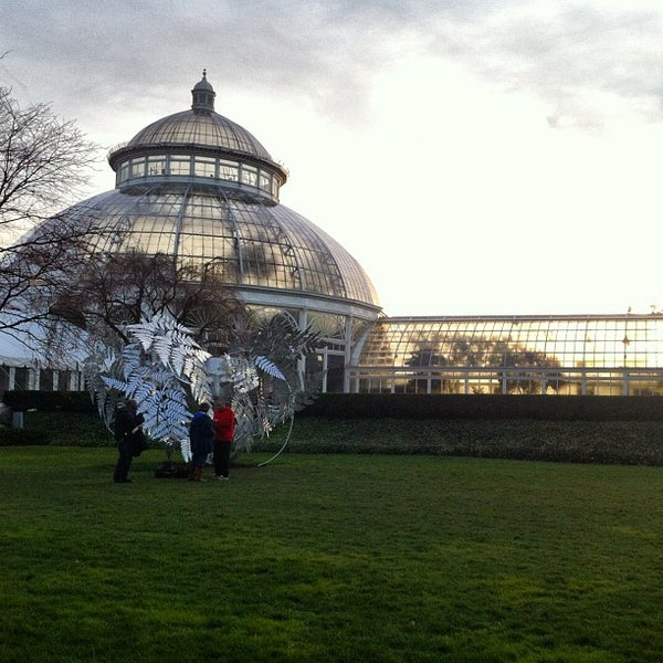 Photo taken at Enid A. Haupt Conservatory by eric p. on 11/18/2012