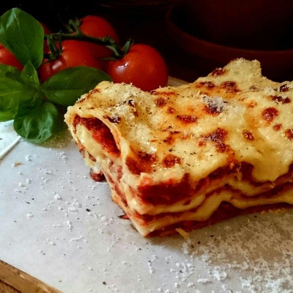die haben jetzt Lasagne, super lecker!
