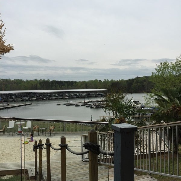 Photo taken at Fish Tales Lakeside Grille by Matt P. on 4/12/2015