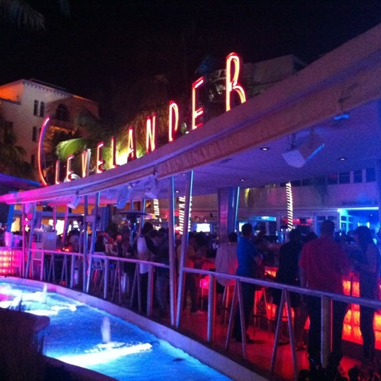 Photo taken at Clevelander South Beach Hotel and Bar by Andreas K. on 3/20/2013