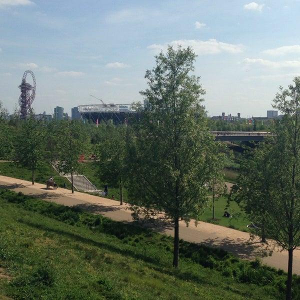 5/4/2014 tarihinde Sam E.ziyaretçi tarafından Queen Elizabeth Olympic Park'de çekilen fotoğraf
