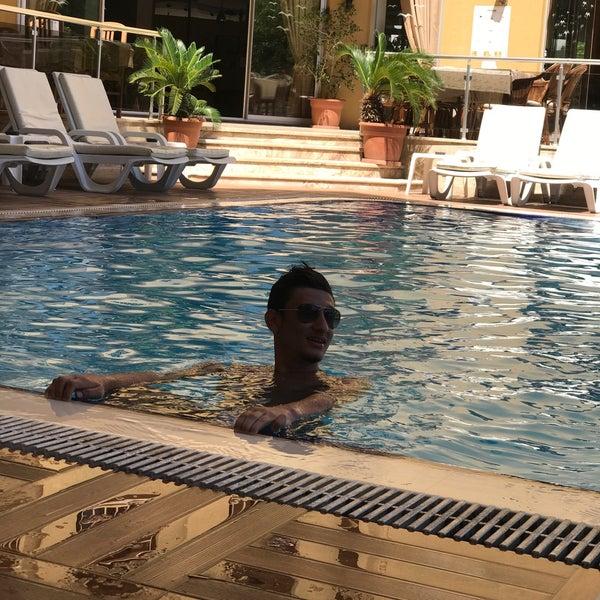 Photo taken at Güneş House Hotel by Gökhan D. on 7/9/2017