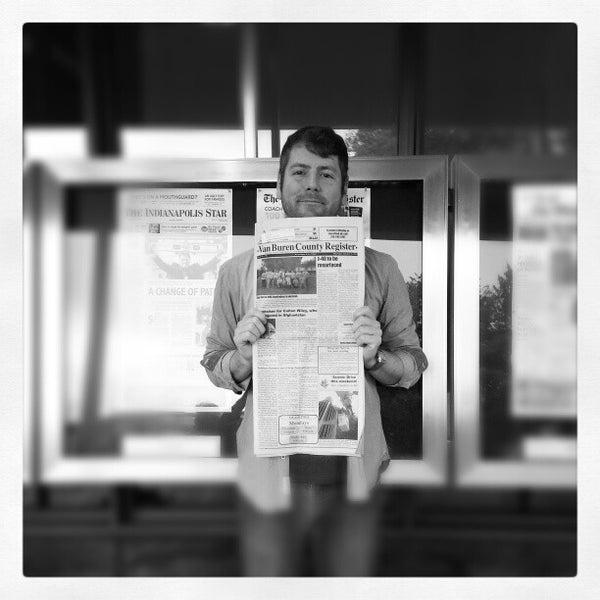 Foto tirada no(a) Newseum por Matthew M. em 10/19/2012