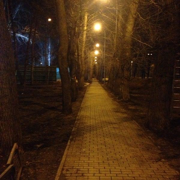 Снимок сделан в Щемиловский детский парк пользователем Kirill F. 4/16/2013