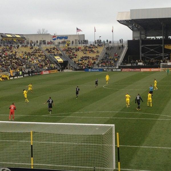 Photo taken at MAPFRE Stadium by Jason C. on 3/16/2013