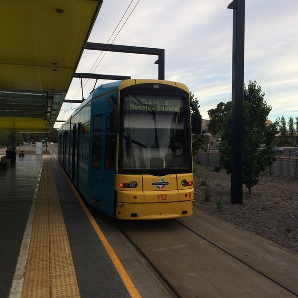 Photo taken at Entertainment Centre Tram Stop by Tim P. on 1/3/2017