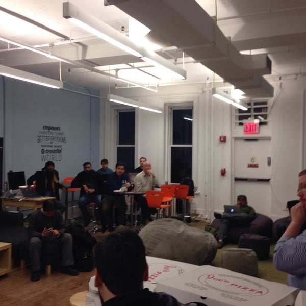 Photo taken at Bitly HQ by Sean O. on 3/19/2015