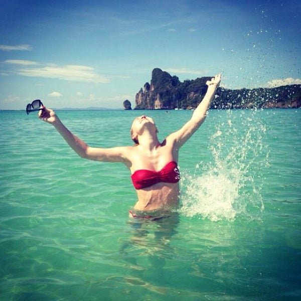 Photo taken at Phi Phi Island by Albina L. on 2/4/2013