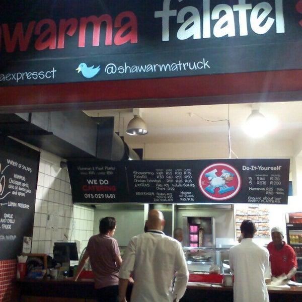 Photo taken at Shawarma Express by James C. on 12/23/2015
