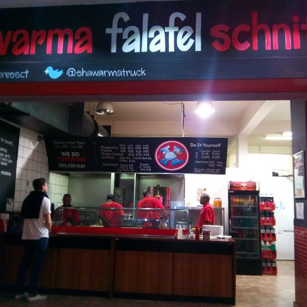 Photo taken at Shawarma Express by James C. on 9/1/2016