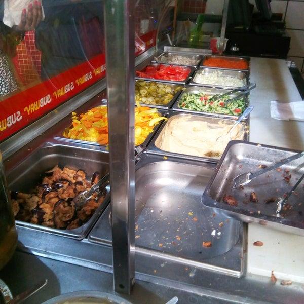 Photo taken at Shawarma Express by James C. on 9/30/2016