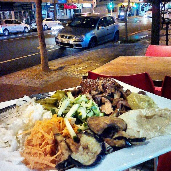 Photo taken at Shawarma Express by James C. on 3/24/2015