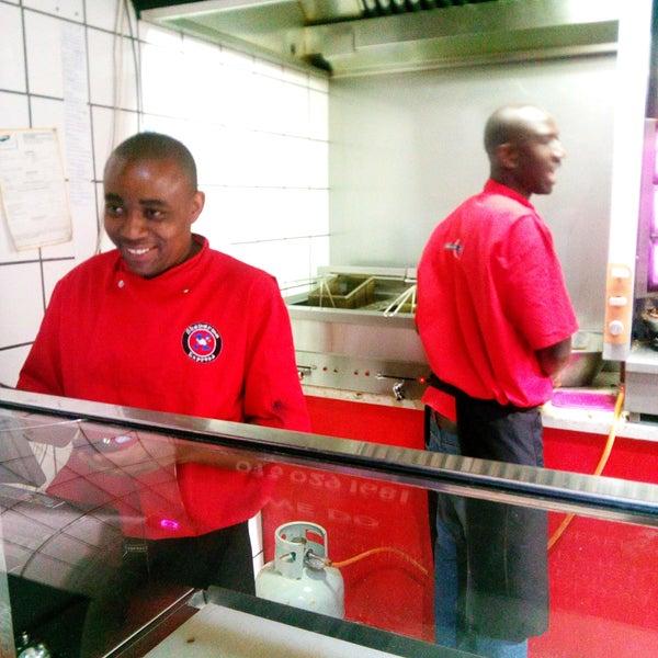 Photo taken at Shawarma Express by James C. on 10/17/2016