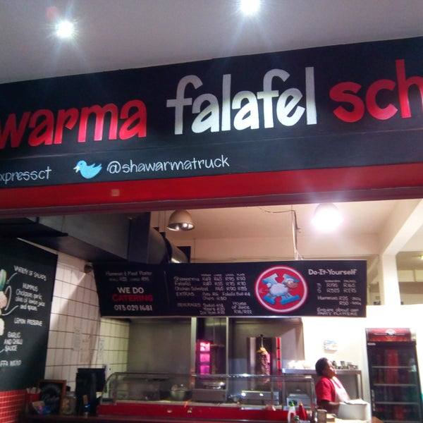 Photo taken at Shawarma Express by James C. on 6/3/2017
