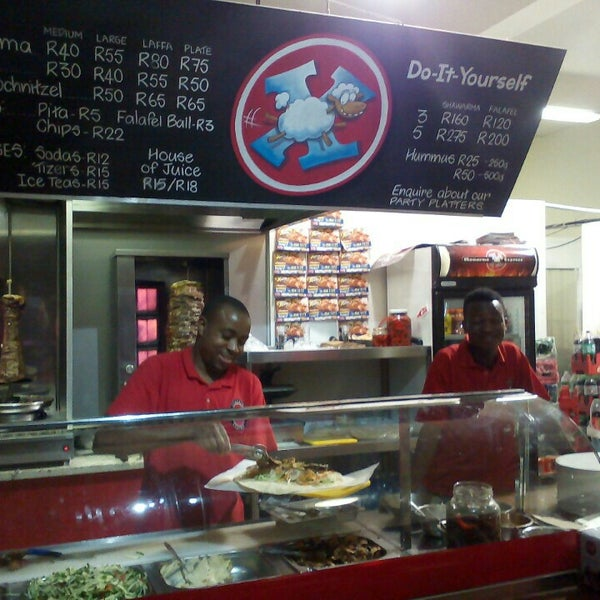 Photo taken at Shawarma Express by James C. on 11/7/2015