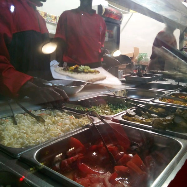 Photo taken at Shawarma Express by James C. on 8/28/2016