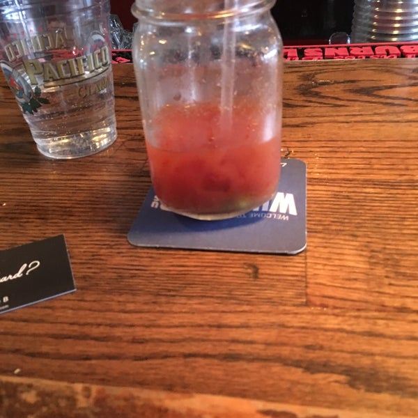 Photo taken at Double Wide Bar & Southern Kitchen by Emily B. on 1/31/2016