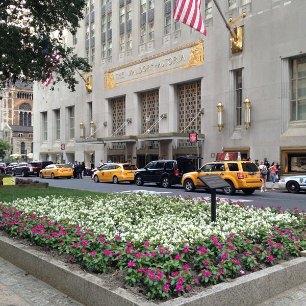 Photo taken at Waldorf Astoria New York by Tigger S. on 7/6/2013