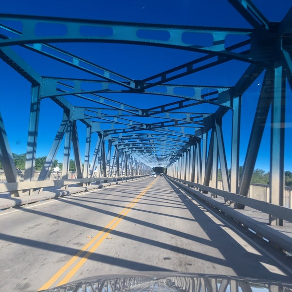 Photo taken at Rio Vista Bridge by Kitlyn X. on 7/9/2017