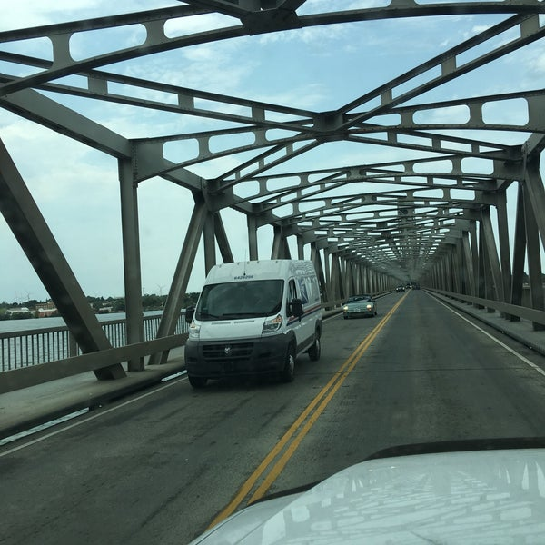 Photo taken at Rio Vista Bridge by Kitlyn X. on 8/4/2017