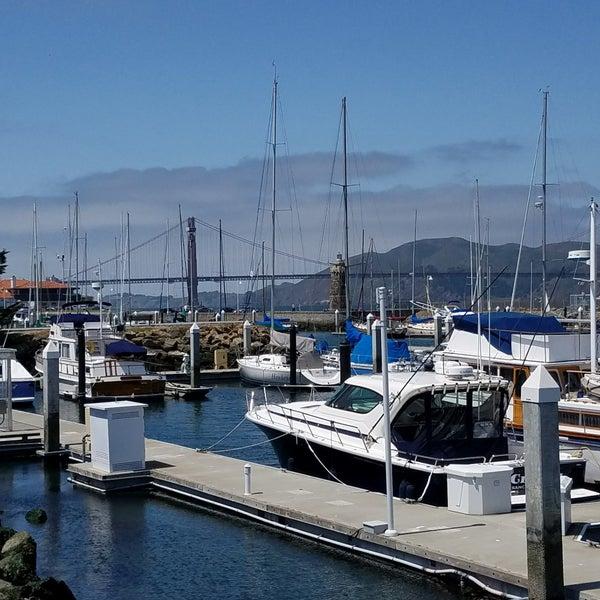 Photo taken at Golden Gate Yacht Club by Gabriella S. on 4/25/2018