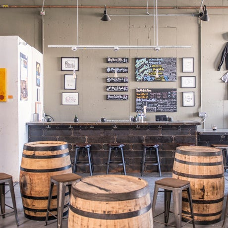 Up-and-comer Seven Stills creates craft-beer-inspired whiskey. Its space is open exclusively for private events, and it's gorgeous enough that you may want to consider planning a big bash.