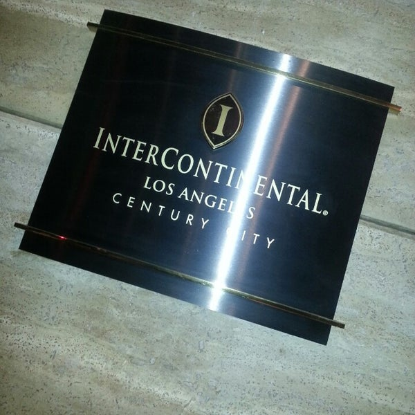 Photo taken at InterContinental Los Angeles Century City by carmelo z. on 6/4/2013