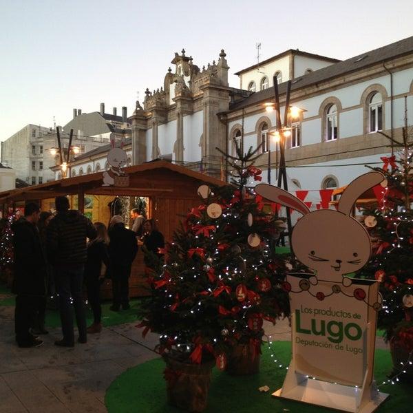 Foto tirada no(a) Deputación de Lugo por Marta B. em 12/23/2012