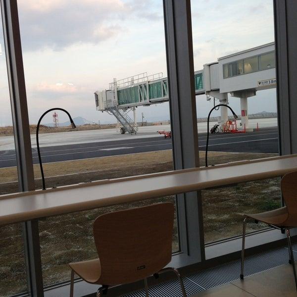 2/7/2013にebidurianが岩国錦帯橋空港 / 岩国飛行場 (IWK)で撮った写真