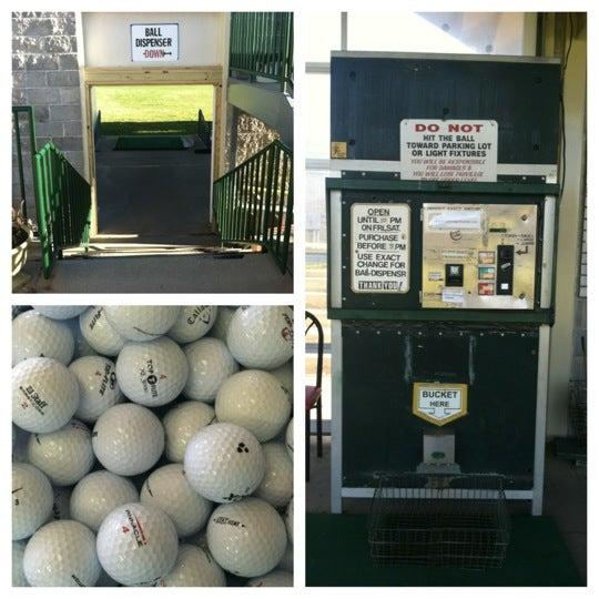 Photo taken at Big Bend Golf Center by Gloria K. on 10/30/2012