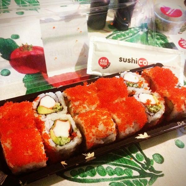Photo taken at SushiCo by Zeynep I. on 3/25/2013