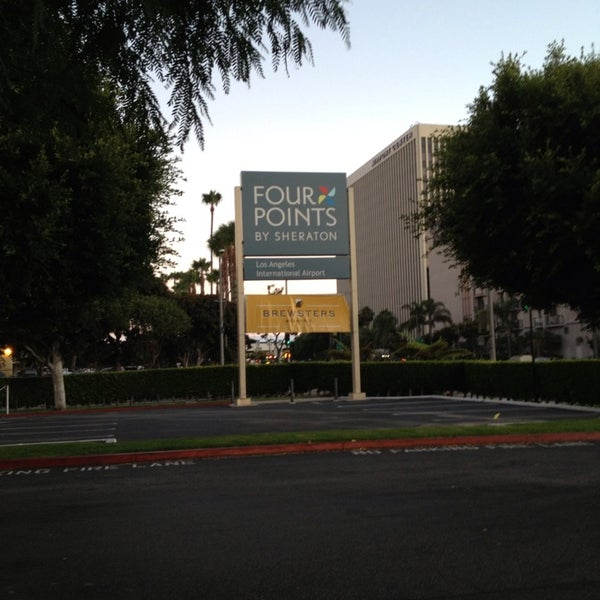 Photo taken at Four Points by Sheraton Los Angeles International Airport by Caroline C. on 7/30/2013