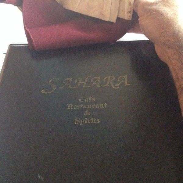Foto diambil di Sahara Restaurant oleh Howard R. pada 8/21/2014