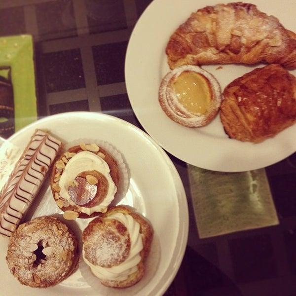 Photo taken at Cannelle Patisserie by Talisa C. on 12/25/2013
