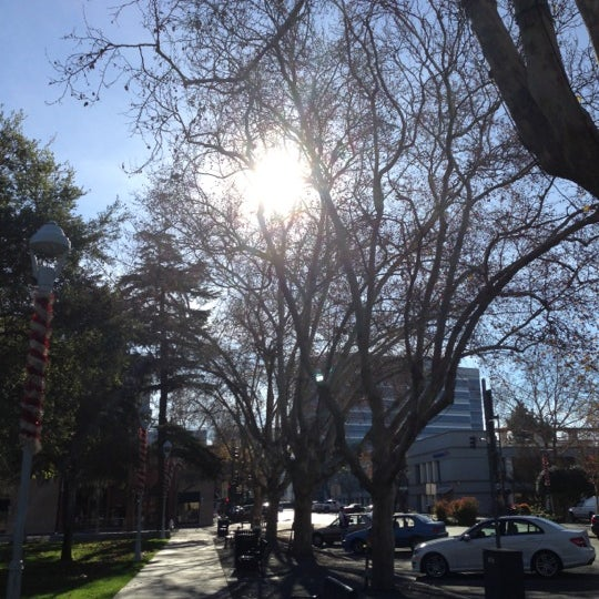 Photo taken at Todos Santos Plaza by Jenny S. on 12/9/2012