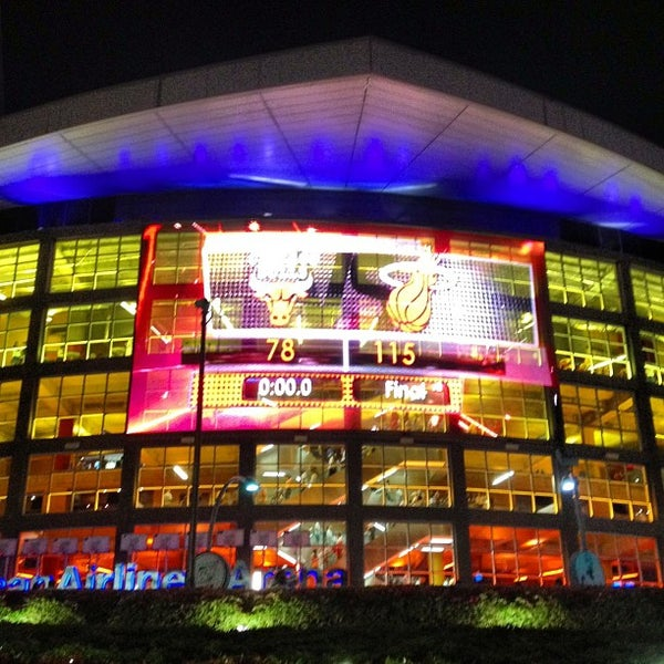 Photo taken at American Airlines Arena by Mauricio G. on 5/10/2013