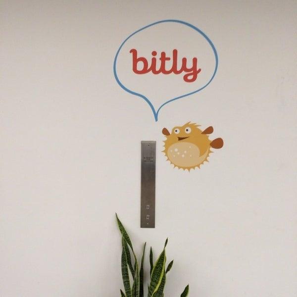 Photo taken at Bitly HQ by John B. on 11/21/2013