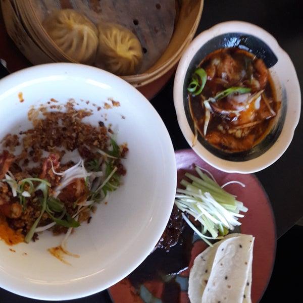 Super fein. Cool am Abend: chinesische tapas...mmh!