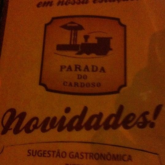 Foto tirada no(a) Parada do Cardoso por Fernando A. em 10/26/2012