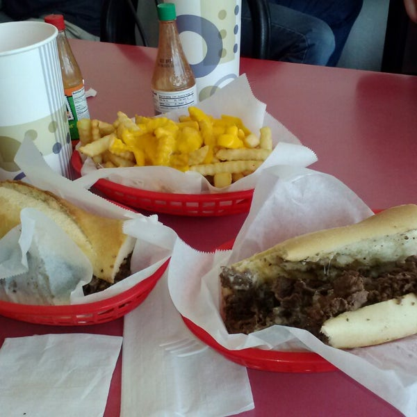Photo taken at Amato's Cheesesteaks by Wayne F. on 3/19/2013