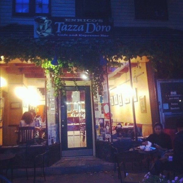 Photo taken at Tazza D'Oro Cafe & Espresso Bar by Laura J. L. on 9/22/2012