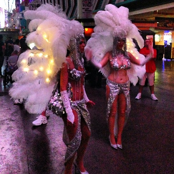 Photo taken at Fremont Street Experience by Jorge M. on 7/8/2013