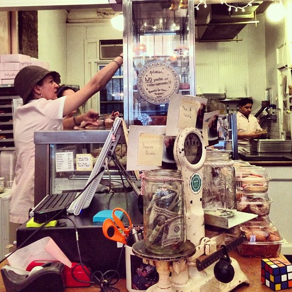 Photo taken at Erin McKenna's Bakery by Jenn O. on 4/13/2013