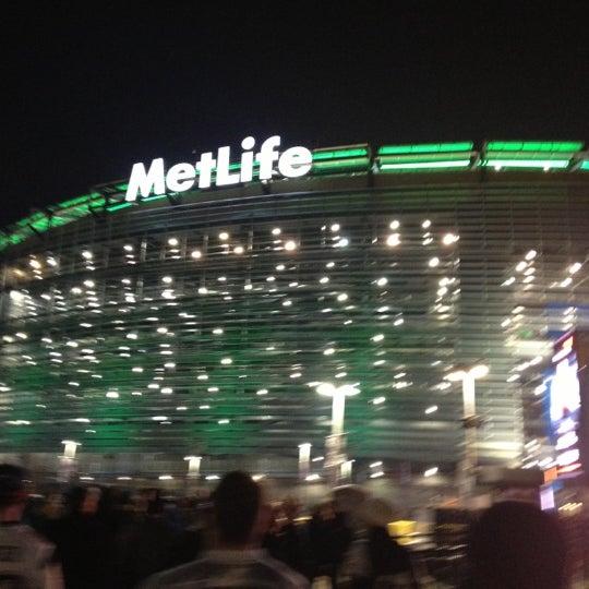 Photo taken at MetLife Stadium by West C. on 11/23/2012